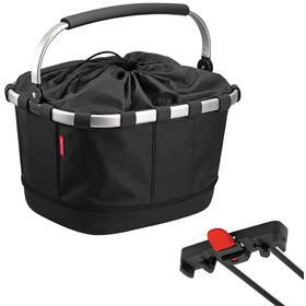KlickFix Reisenthel Carrybag GT Bike Basket for Racktime, black